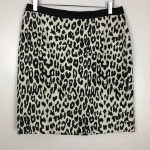 Ann Taylor LOFT Wool Blend Pencil Skirt NWOT